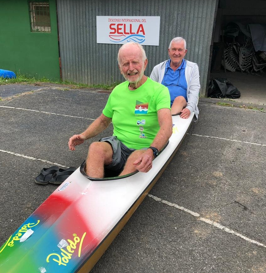 Culverwell and Chalupsky honoured at Sella Descent